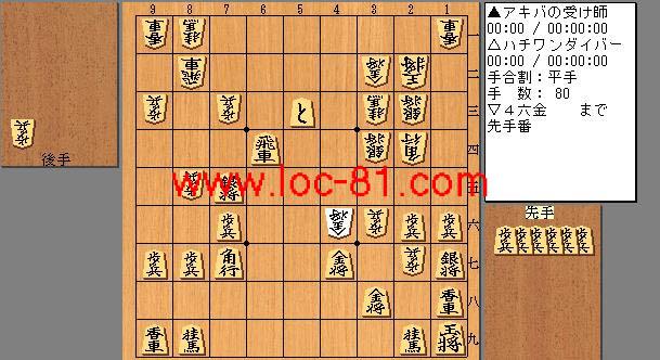 アキバの受け師とハチワンダイバーの賭け将棋