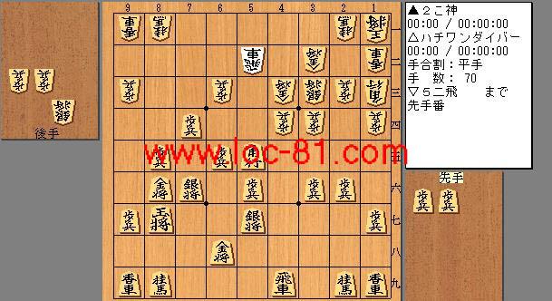 二こ神とハチワンダイバーの賭け将棋(マンガ版)