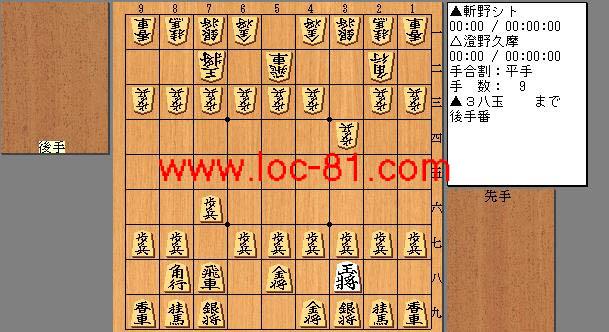 斬野シトと澄野久摩の賭け将棋