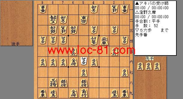 アキバの受け師と澄野久摩の賭け将棋