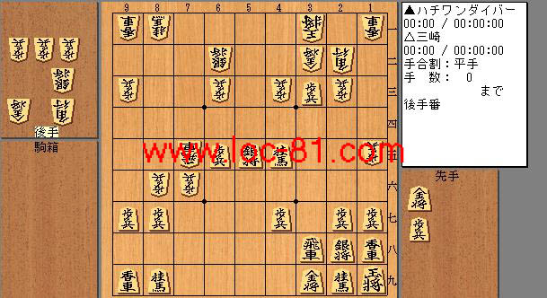 ハチワンダイバーと三崎の賭け将棋
