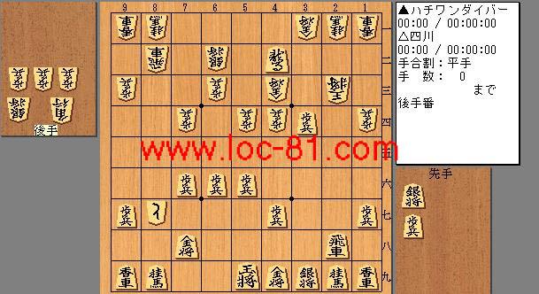ハチワンダイバーと四川の賭け将棋