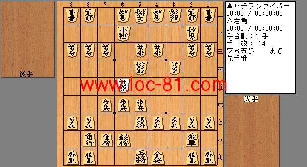ハチワンダイバーと右角の賭け将棋